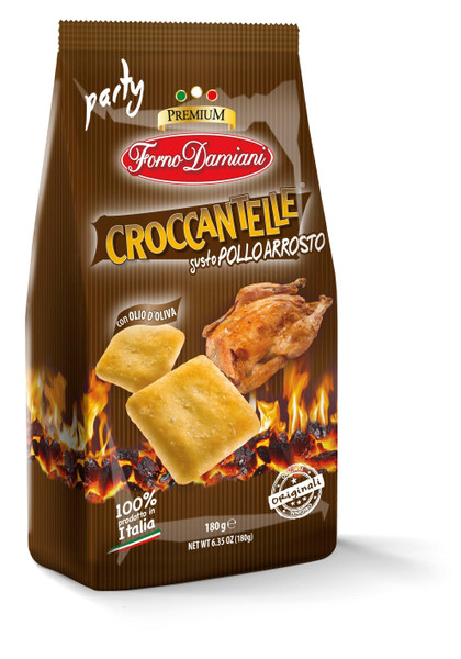 Delicious Chicken Flavored Italian Style Crackers