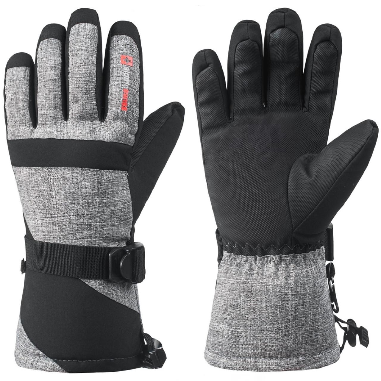 Windbreak and Waterproof Outdoor Sports Gloves Half-fingered Gloves