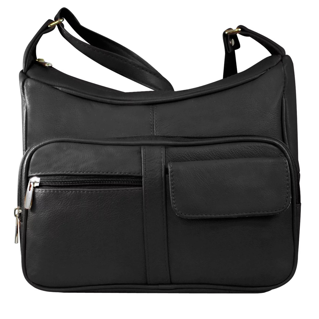 Women Multipockets Slim Small Shoulder Purse Bag Crossbody Side Clutch Handbag