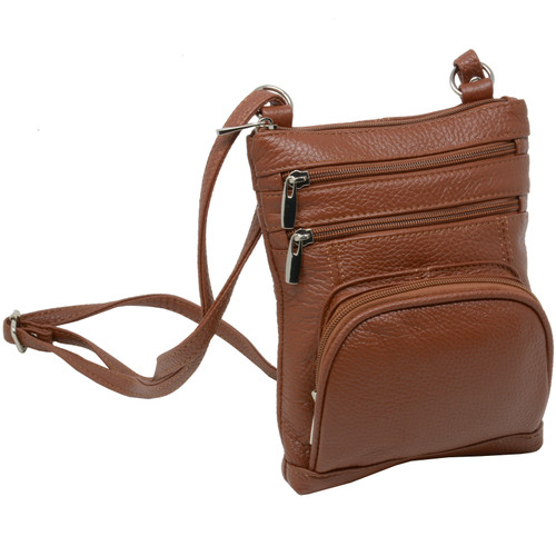 bc1abe96f1fb Leather Shoulder Bag Handbag Purse Cross Body Organizer Wallet Multi  Pockets New