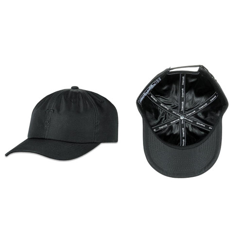 Buy a Black Simply Sprouted Tech Dad Strapback Hat Online from Tree Huggers Co-op