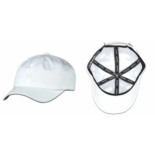 Buy a White Simply Sprouted Tech Dad Strapback Hat Online from Tree Huggers Co-op
