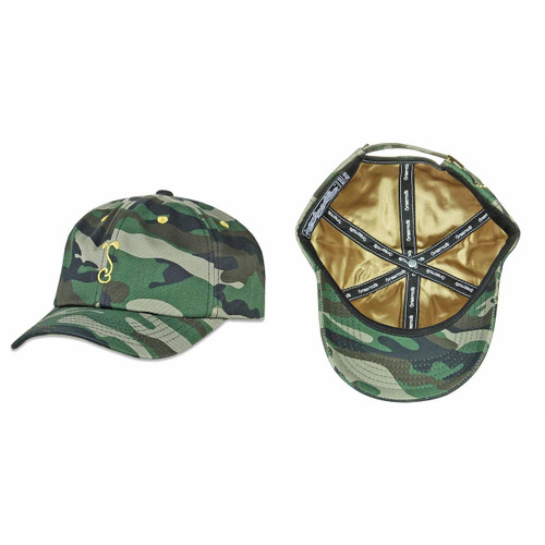 Buy a Simply Sprouted Camo Dad Strapback Hat Online from Tree Huggers Co-op