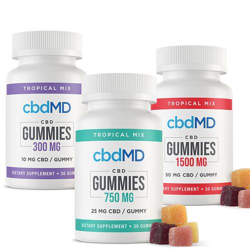 Buy cbdMD Gummies Online from Tree Huggers Co-op