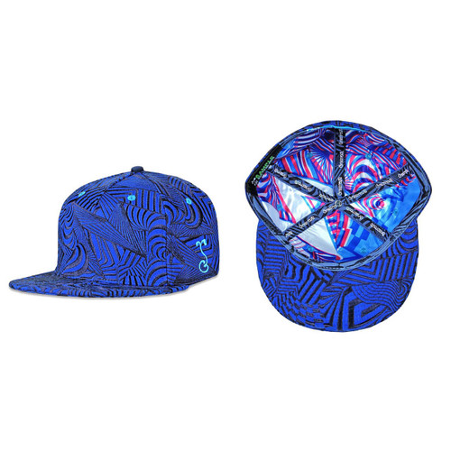 Buy a Blue Psychonaut Fitted Hat Online from Tree Huggers Co-op