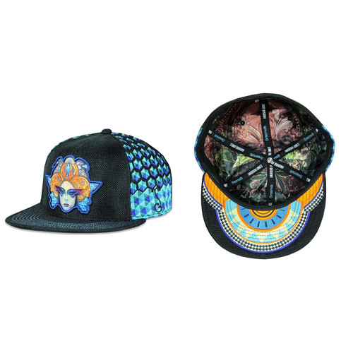 Buy a Black Android Jones 11/11/11 Fitted Hat Online from Tree Huggers Co-op