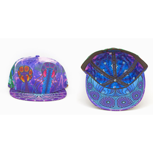 Buy a Purple Phil Lewis Jellyfish Nimbus Fitted Hat Online from Tree Huggers Co-op