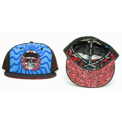Buy a Black Aaron Brooks Eazy Rider Fitted Hat Online from Tree Huggers Co-op
