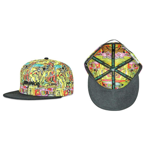 Buy a Jerry Garcia Dripping Graffiti V2 Strapback Hat Online from Tree Huggers Co-op