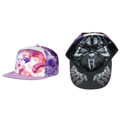 Buy an Android Jones Ram All Over Snapback Hat Online from Tree Huggers Co-op