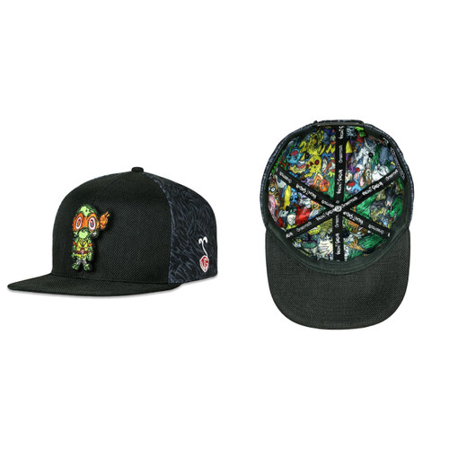Buy a Vincent Gordon Removable Turtle Snapback Hat Online from Tree Huggers Co-op