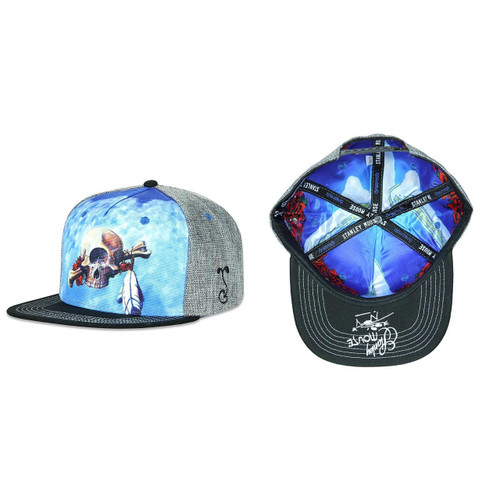 Buy a Stanley Mouse Cyclops Snapback Hat (Gray) Online from Tree Huggers Co-op