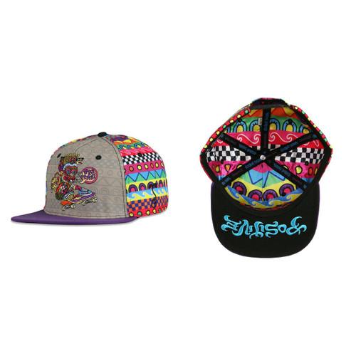 Buy a Stylish Chris Dyer Skater Bert Snapback Hat Online from Tree Huggers Co-op