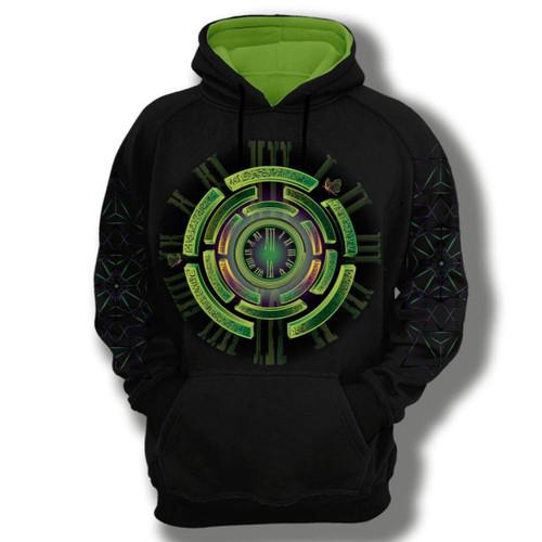 Buy a Stylish Time Stretch Pullover Hoodie (Black) Online from Tree Huggers Co-op