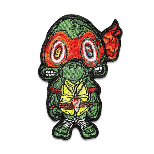 Buy a Vincent Gordon Turtles Iron-on Patch (Red) Online from Tree Huggers