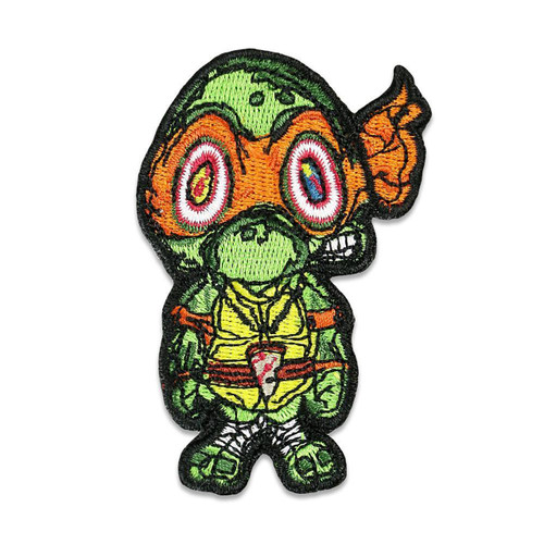Buy a Vincent Gordon Turtles Iron-on Patch (Orange) Online from Tree Huggers