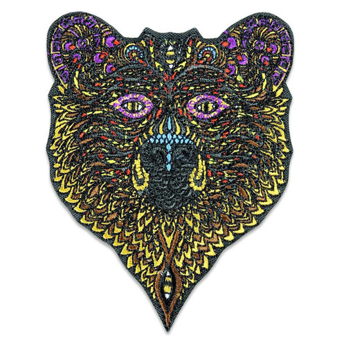Buy a Phil Lewis Bear Iron-on Patch Online from Tree Huggers