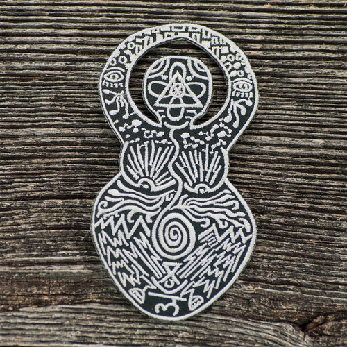 Buy a Mystic Goddess Iron-on Patch Online from Tree Huggers