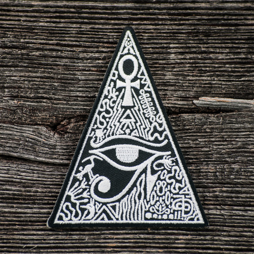 Buy a Mesopotamian Evocation Iron-on Patch Online from Tree Huggers