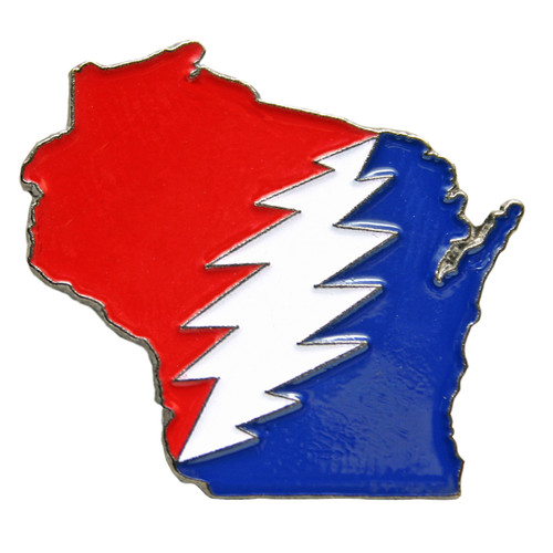 Buy a Wisconsin Deadhead Pin Online from Tree Huggers