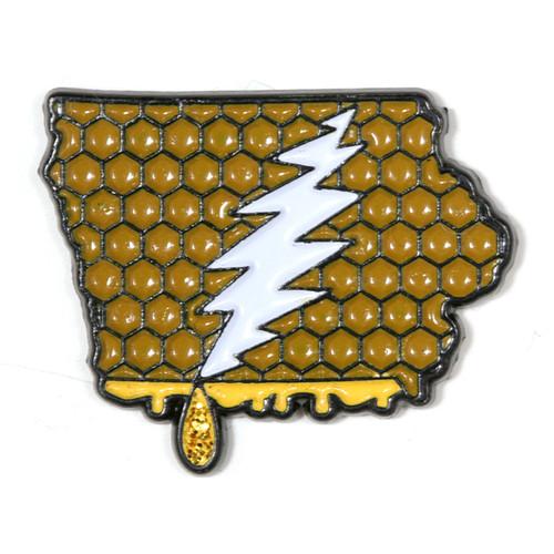 Buy a Iowa Deadhead Pin Online from Tree Huggers