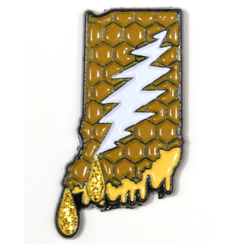 Buy a Indiana Deadhead Pin Online from Tree Huggers
