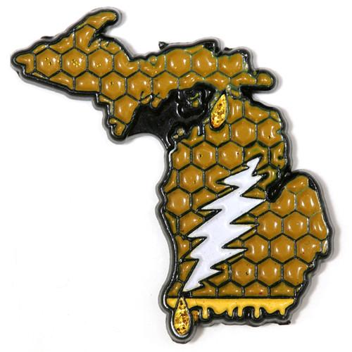 Buy a Michigan Deadhead Pin Online from Tree Huggers