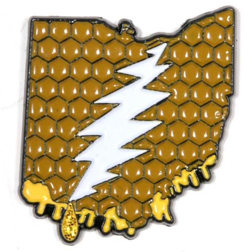 Buy a Ohio Deadhead Pin Online from Tree Huggers