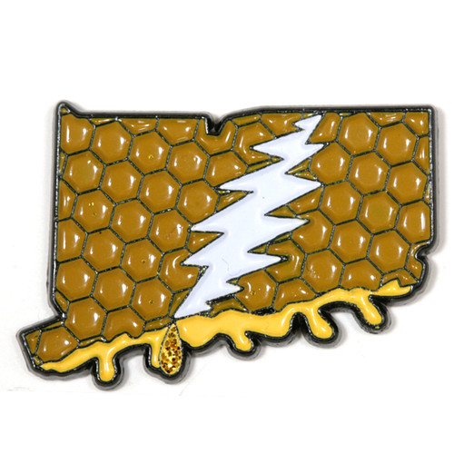 Buy a Connecticut Deadhead Pin Online from Tree Huggers
