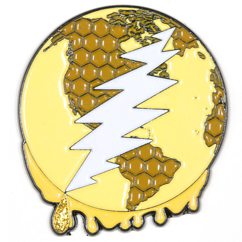 Buy a Dab All Over The World Deadhead Pin Online from Tree Huggers