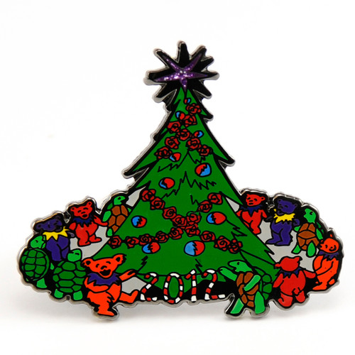 Buy a Grateful Dead 2012 Christmas Pin Online from Tree Huggers