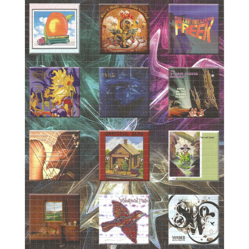 Buy a Jam Band Album Cover Blotter Online from Tree Huggers Co-op