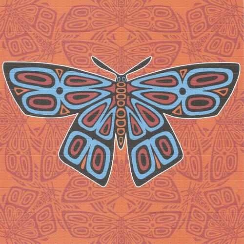 Buy a Moth Mandala Blotter Online from Tree Huggers Co-op