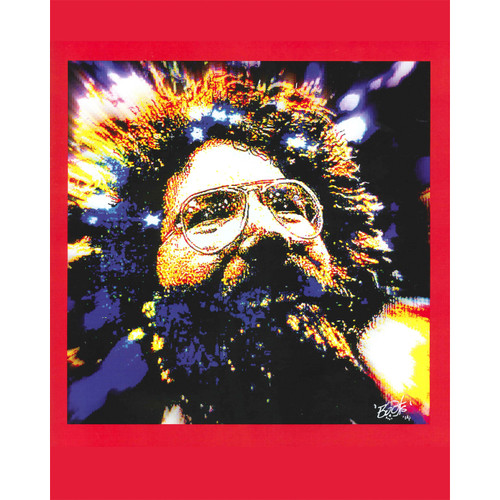 Buy a Jerry Garcia Poster Online from Tree Huggers Co-op