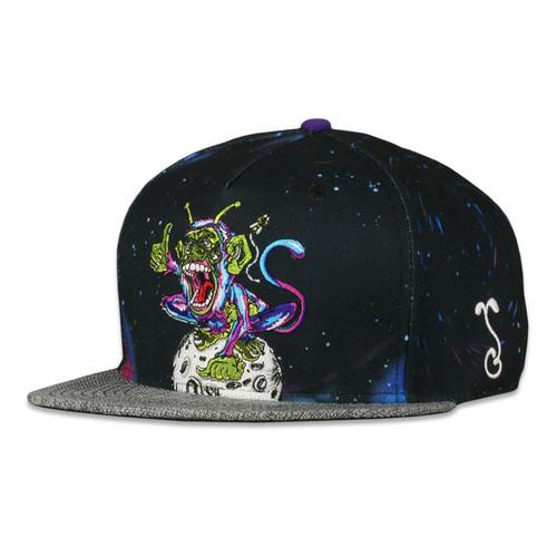 Aaron Brooks Space Monkey Snapback Hat