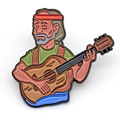 Willie Nelson Pin
