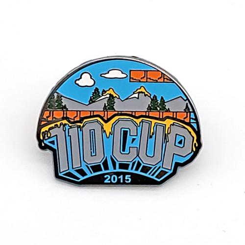 2015 710 Cup Logo Pin