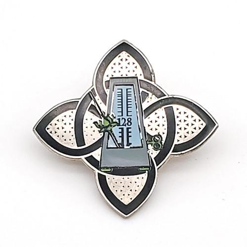 Lotus Metronome Pin