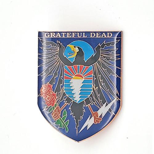 Grateful Dead Coat of Arms Pin