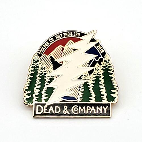 Dead & Company Boulder, CO 2016 Pin