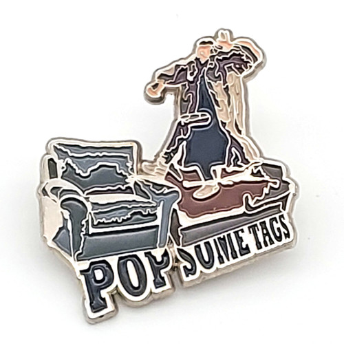 Pop Some Tags Shopping Zombie Pin