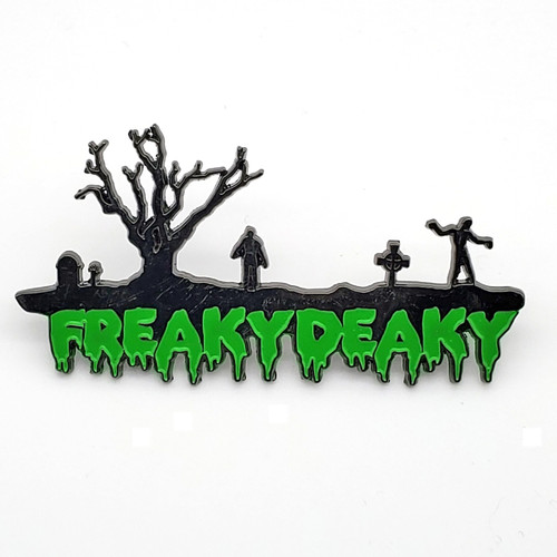"""Official Freaky Deaky """"Living Dead"""" 2015 Pin"""