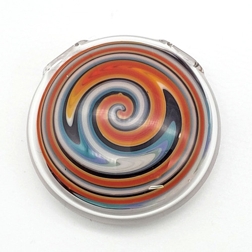 Buy a Glass Wigwag Pendant Online from Tree Huggers Co-op