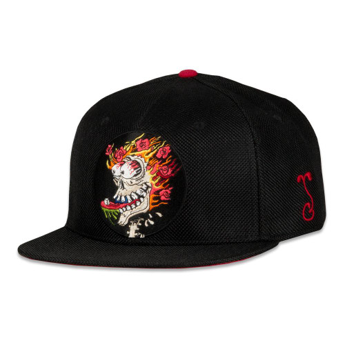 Stanley Mouse Sugar Cube Black Fitted Hat