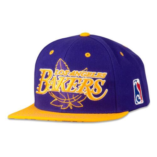 LA Bakers Purple Snapback Hat