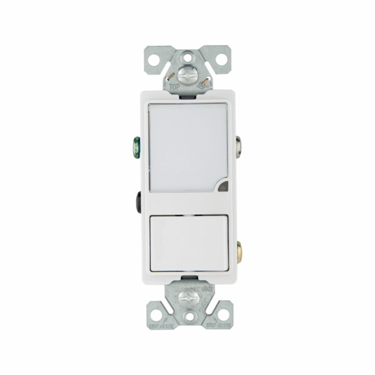 Light Almond TR7735LA-BOX EATON Wiring TR7735LA 3-Wire Receptacle Combo Nightlight with Tamper Resistant 2-Pole