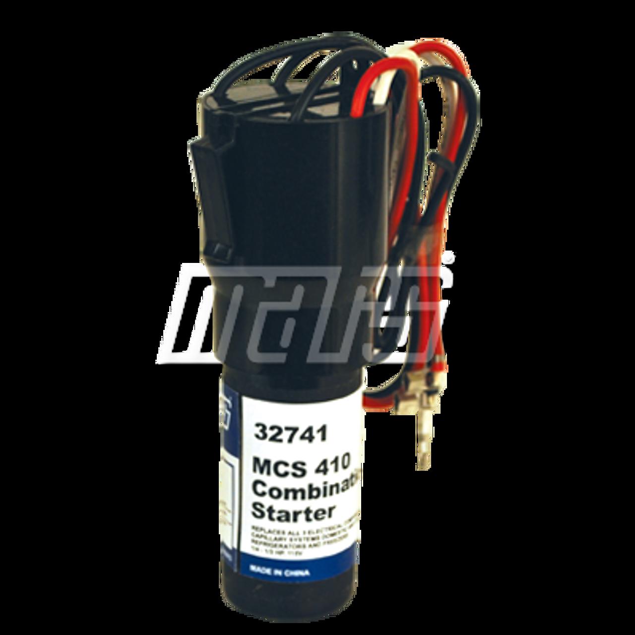 Mars 32741 Combination Starter RELAY/CAP/OV'LD 115V 1/4-1/3HP on compressor start relay diagram, hermetic compressor wiring diagram, compressor start capacitor wiring diagram,