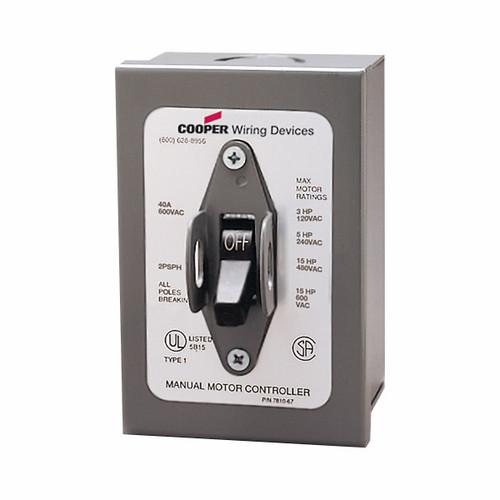 Eaton Wiring Devices AHMC240L-1 AHMC240L MOUNTED IN NEMA 1 ENCLOSURE