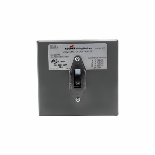 Eaton Wiring Devices AHMC260L-1 AHMC260L MOUNTED IN NEMA 1 ENCLOSURE