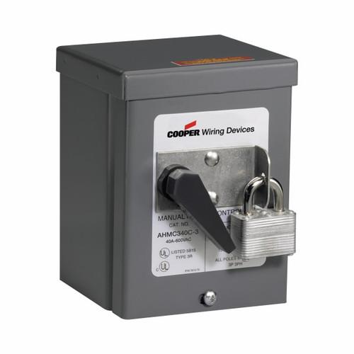Eaton Wiring Devices AHMC340C-3 AHMC340C MOUNTED IN NEMA 3R ENCLOSURE